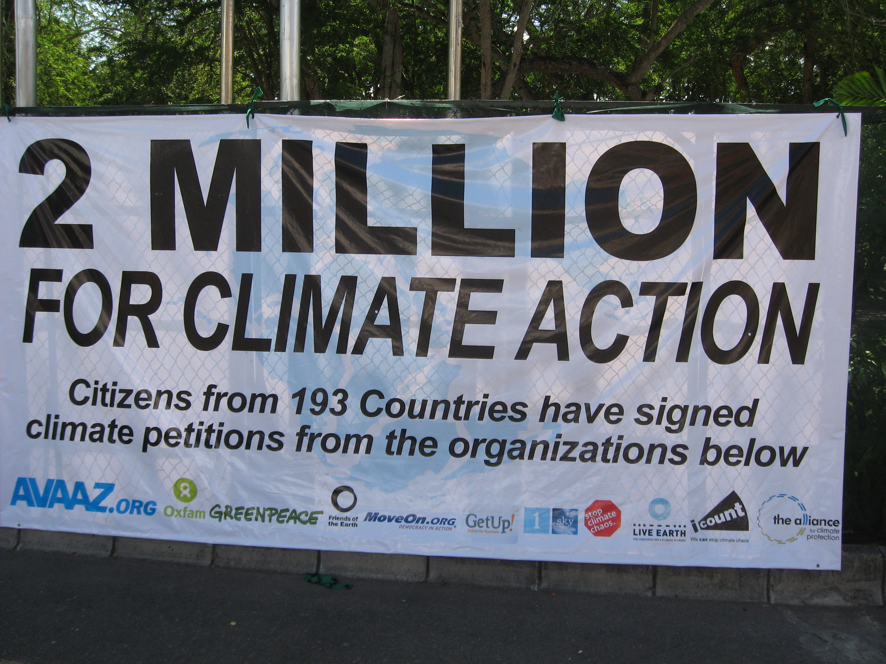 2 Million for Climate Action