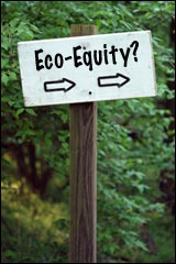 Eco-Equity Trail Sign Image